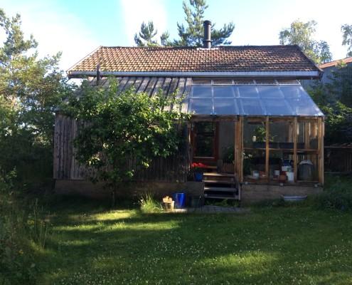 Halmhus Svestadv. 25, fasade syd